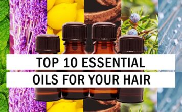 Top 10 Essential Oils for Your Hair