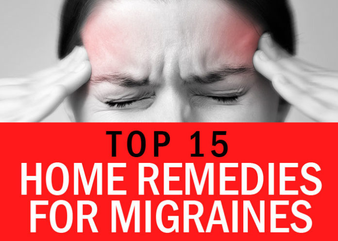 Top 15 Home Remedies for Migraines