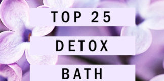 Top 25 Detox Bath Recipes