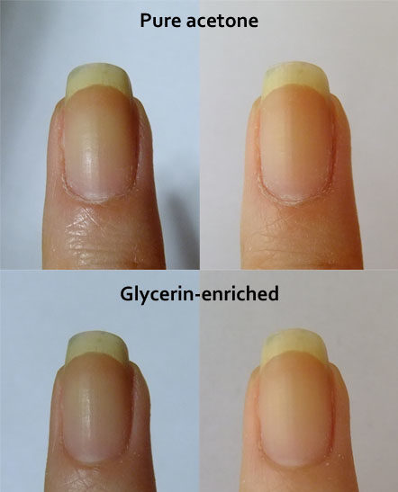 Glycerin Brightens Your Nails