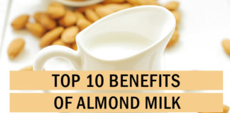Top 10 Benefits of Almond Milk