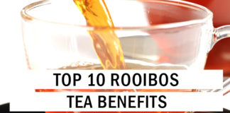 Top 10 Rooibos Tea Benefits