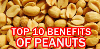 Top 10 Benefits of Peanuts