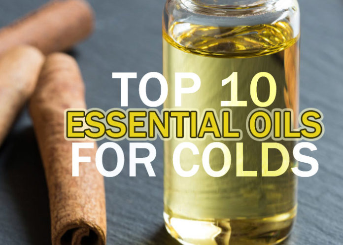 Top 10 Essential Oils For Colds