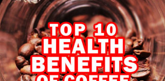 Top 10 Health Benefits of Coffee