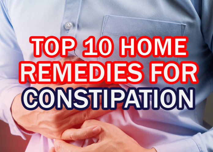How to Relieve Constipation: Top 10 Home Remedies for Constipation