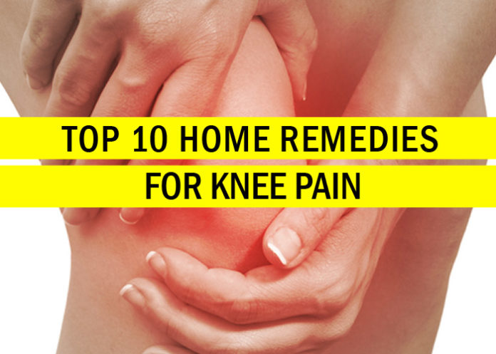 Top 10 Home Remedies for Knee Pain