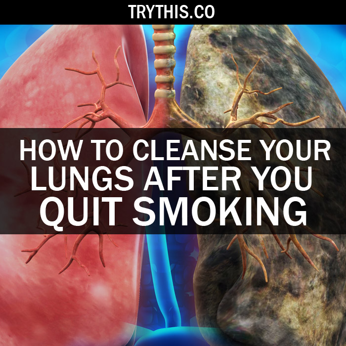 How to Cleanse Your Lungs After You Quit Smoking