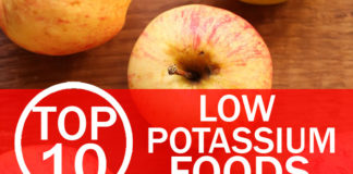 Top 10 Low Potassium Foods