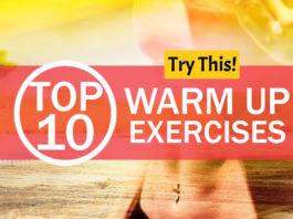 Top 10 Warm Up Exercises