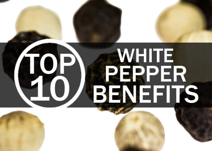 Top 10 White Pepper Benefits