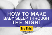 How to Make Baby Sleep through the Night