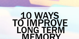 Long Term Memory Loss? 10 Ways To Improve Long Term Memory