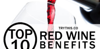 Top 10 Red Wine Benefits