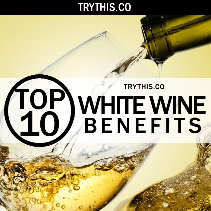 Top 10 White Wine Benefits
